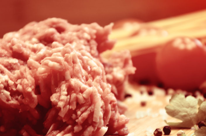 Faschiertes Rindfleisch